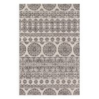 Magnolia Home by Joanna Gaines Lotus 3-Foot 6-Inch x 5-Foot 6-Inch Area Rug in Ivory/Mink Gold