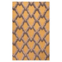 Jaipur National Geographic Home Flat Weave Premium Loras 5-Foot x 8-Foot Area Rug in Yellow
