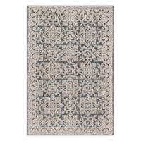Magnolia Home by Joanna Gaines Lotus 5-Foot x 7-Foot 6-Inch Area Rug in Fog/Beige