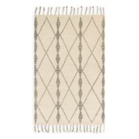 Magnolia Home by Joanna Gaines Tulum 5-Foot 6-Inch x 8-Foot 6-Inch Area Rug in Ivory/Pebble