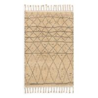 Magnolia Home by Joanna Gaines Tulum 5-Foot 6-Inch x 8-Foot 6-Inch Area Rug in Natural/Grey