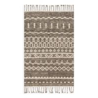 Magnolia Home by Joanna Gaines Tulum 5-Foot 6-Inch x 8-Foot 6-Inch Area Rug in Ash/Ivory