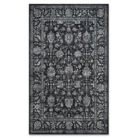 Couristan® Sultan Treasures All Over Mashhad 2-Foot x 3-Foot 7-Inch Accent Rug in Black