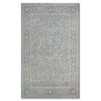 Couristan® Sultan Treasures Floral Yazd 3-Foot 11-Inch x 5-Foot 3-Inch Area Rug in Slate Blue