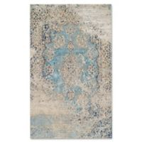 Couristan® Vintage Antique Tabriz 5-Foot 3-Inch x 7-Foot 6-Inch Area Rug in Light Blue
