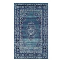 Couristan® Vintage Center Medallion 9-Foot 2-Inch x 12-Foot 5-Inch Area Rug in Light Blue/Aqua
