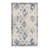 Couristan® Vintage Ferahan 3-Foot 11-Inch x 5-Foot 3-Inch Area Rug in Sand/Denim