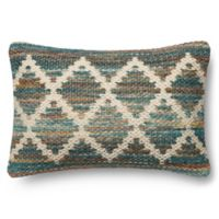 Magnolia Home Virginia 13-Inch x 21-Inch Accent Pillow in Teal