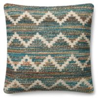 Magnolia Home Virginia 22-Inch x 22-Inch Accent Pillow in Teal