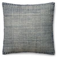 Magnolia Home Wilson 22-Inch x 22-Inch Accent Pillow in Blue
