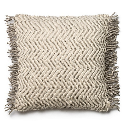 Magnolia Home Messenger 22 Inch Square Throw Pillow In