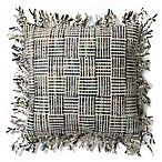 Magnolia Home Geraldine 22-Inch x 22-Inch Throw Pillow in Beige/Olive