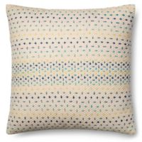 Magnolia Home Delaney 22-Inch x 22-Inch Accent Pillow in Blue Multi