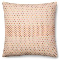 Magnolia Home Delaney 22-Inch x 22-Inch Accent Pillow in Coral Multi
