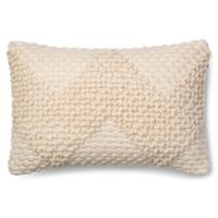 Magnolia Home Fae 13-Inch x 21-Inch Accent Pillow in Ivory