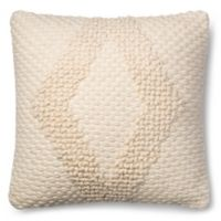 Magnolia Home Fae 22-Inch x 22-Inch Accent Pillow in Ivory