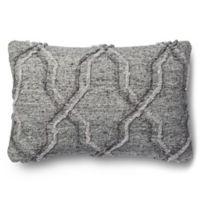 Magnolia Home Passage 13-Inch x 21-Inch Accent Pillow in Grey