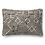 Magnolia Home Lana 13-Inch x 21-Inch Throw Pillow in Silver Multi