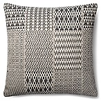 Magnolia Home Etta 22-Inch Square Throw Pillow in Black/White