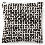 Magnolia Home Trellis 22-Inch Square Throw Pillow in Black/White