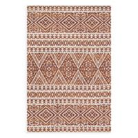 Magnolia Home by Joanna Gaines Lotus 3-Foot 6-Inch x 5-Foot 6-Inch Area Rug in Ivory/Rust