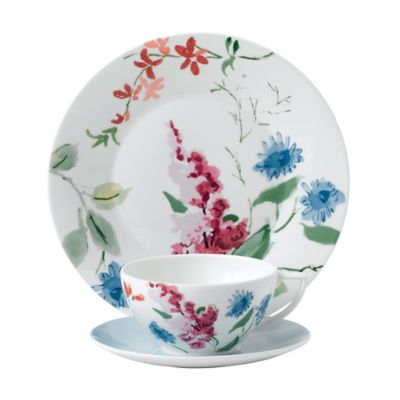 Wedgwood® Jasper Conran Floral Cornflower 3-Piece Place Setting  sc 1 st  Bed Bath u0026 Beyond & Buy Wedgwood Better Casual Dinnerware from Bed Bath u0026 Beyond