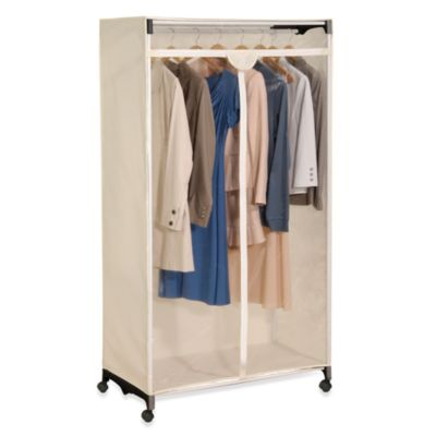 Buy Wardrobe Clothes Closet From Bed Bath Beyond