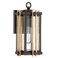 Quoizel Goldenrod Small Wall Lantern in Bronze