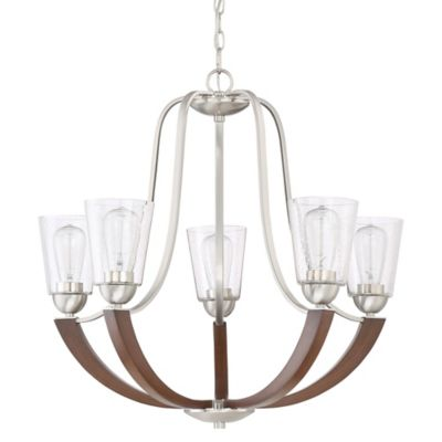Buy Quoizel Chandelier with 5 Lights from Bed Bath & Beyond