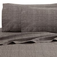 Kelly Wearstler Haze Mesh King Fitted Sheet in Dusk