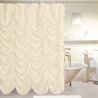 Dainty Home Theater Shower Curtain in Ivory