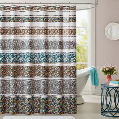 Brown And Teal Shower Curtain. Teal and brown shower curtainBest ...