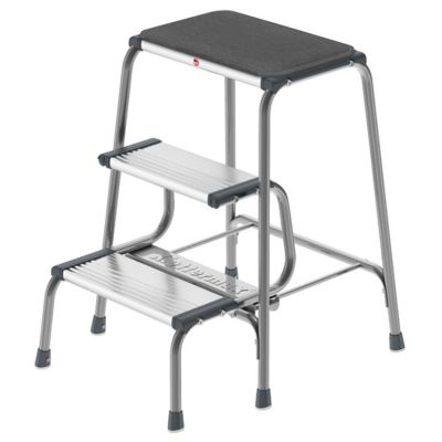 Hailo Retro Step Stool in Grey  sc 1 st  Bed Bath u0026 Beyond & Buy Kitchen Step Stools from Bed Bath u0026 Beyond islam-shia.org