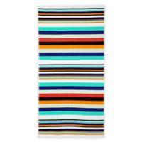 French Stripe Beach Towel