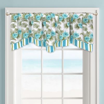 Colordrift Tropicana Window Valance