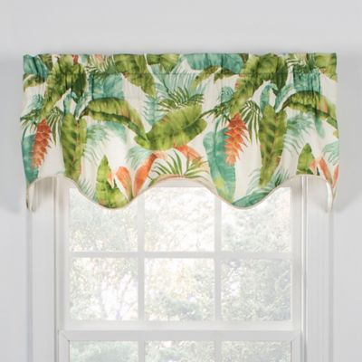 New Buy Palm Valance from Bed Bath & Beyond IV99