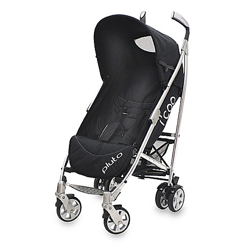 i'coo Pluto Stroller by Grand Touring Baby in Black