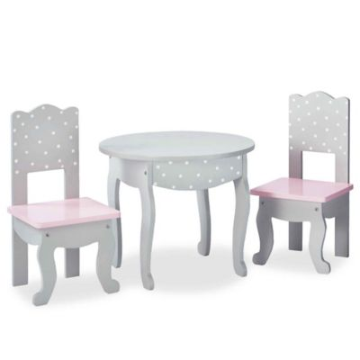 Oliviau0027s Little World Doll Furniture 18-Inch Dots Table And Chair Set in  sc 1 st  buybuy BABY & Toddler Table And Chair Sets from Buy Buy Baby