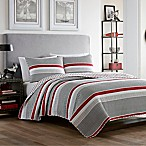Poppy & Fritz® Anchors Away King Quilt Set in Grey