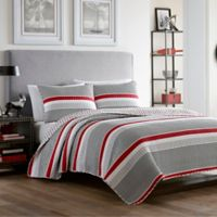 Poppy & Fritz® Anchors Away Twin Quilt Set in Grey