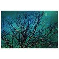 Marmont Hill Magical Night 18-Inch x 12-Inch Canvas Wall Art