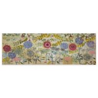 Marmont Hill Spring Garden 30-Inch x 10-Inch Canvas Wall Art