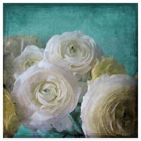 Marmont Hill 32-Inch x 32-Inch Yellow Ranunculus Canvas Wall Art