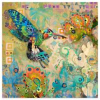 Marmont Hill Hummingbirds 24-Inch x 24-Inch Canvas Wall Art