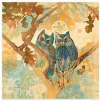 Marmont Hill Parish Owls 18-Inch x 18-Inch Canvas Wall Art