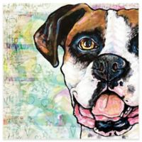Marmont Hill Boxer Pop Art 40-Inch x 40-Inch Canvas Wall Art