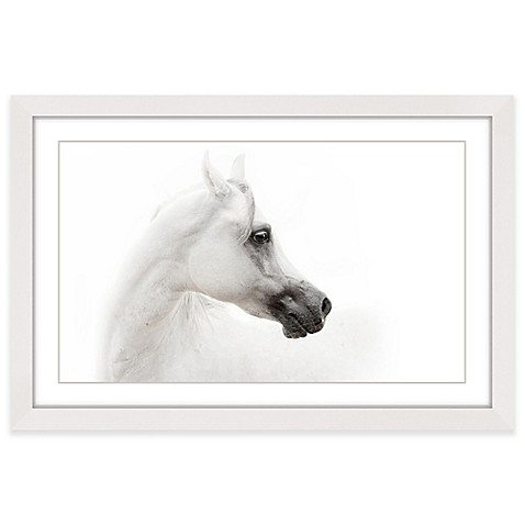 image of Marmont Hill White Beauty Framed Wall Art