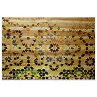 Parvez Taj Tangier 45-Inch x 30-Inch Pinewood Wall Art