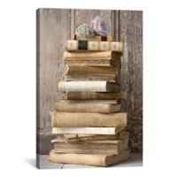 Art Books I 60-Inch x 40-Inch Canvas Wall Art