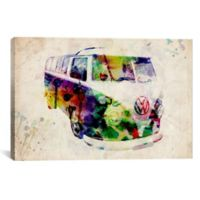 VW Camper 60-Inch x 40-Inch Canvas Wall Art